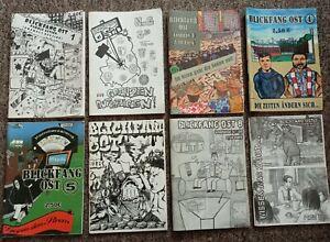 Auflösung Sammlung Fanzines - Blickfang Ost - Ultras, Hooligans