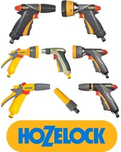 HOZELOCK Quick Connection Hose Pipe Attachment Watering Spray Guns