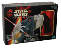 Star Wars Episode I Sith Speeder & Darth Maul Figure Toy Set