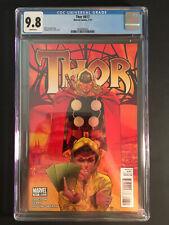 Thor # 617 (2011) CGC 9.8 1st Kid Loki - low pop census