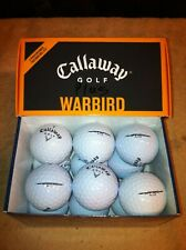 60 Callaway Warbird  Mint/AAAA golf balls