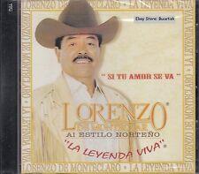 Lorenzo de Monteclaro Si Tu Amor Se Va CD New Sealed