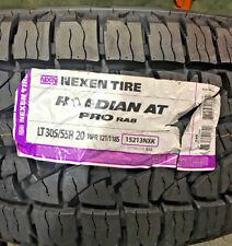 4 New LT 305 55 20 LRE 10 Ply Nexen Roadian AT Pro RA8 Tires