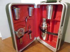 New listing Platt Mid Century Portable Bar in case.