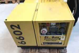 Stromerzeuger Notstromaggregat  Geko Eisemann 6602 ED, E-.Start