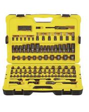 Stanley 122-piece Professional Grade Black Chrome Socket Set