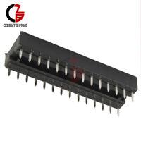 10PCS 28-Pin Narrow DIP IC Sockets Adaptor Solder Type Socket 2.54mm Pitch