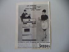 advertising Pubblicità 1963 CUCINA ZOPPAS