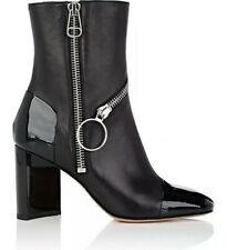Maison Margiela⚡️[MSRP $1,225] Asymmetric high block heel zipper ankle boot 39/9