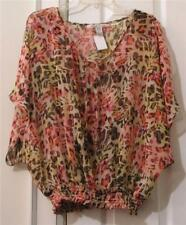 AMERICAN RAG SHEER BLOUSE, SIZE 2X (22)
