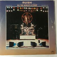Rush All The World's A Stage 2 LP VG+ Mercury SRM-2-7508 Masterdisk Trifold 1976