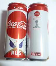 COCA COLA Coke Can MALAYSIA 330ml FIFA World Cup RUSSIA Collect 2018 RUSSIA