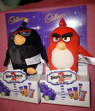 PAIR OF ANGRY BIRDS Soft Toys  CE LABEL