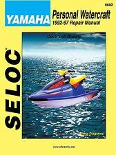 SELOC JET SKI PWC WORKSHOP REPAIR MANUAL Yamaha Personal Watercraft 1992-1997