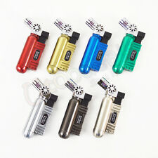 Pocket Rocket Angled Single Jet Cigar Torch Lighter - 1 pc Random Color