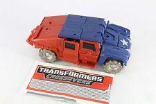 Transformers Marvel Crossover CAPTAIN AMERICA pas de bouclier