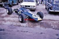 PHOTO  DAVID PULLEN'S BRABHAM BT21 THRUXTON 1971 FORMULA LIBRE AND DAVID PULLEN'