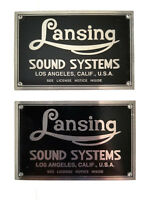 Altec Lansing Iconic Speaker Badges (pair) BLACK (Listing #1)
