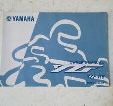 YAMAHA R6 OWNER'S MANUAL 2001   5MT-28199-E1  (JR) HB23
