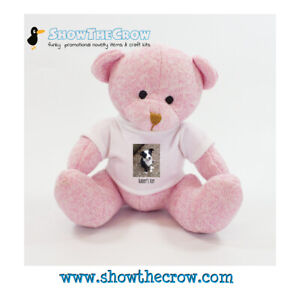 20cm Personalised Photo Nursery Bear