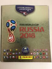 PANINI  FIFA WORLD CUP RUSSIA 2018 EMPTY ALBUM GOLD EDITION Switzerland only