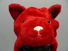 Rojo Oso - JUVENTUD o adulto S/M talla Bufanda Estilo Medias Gorra Gorro