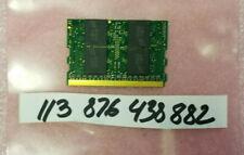 512MB 1RX8 DDR1 DDR PC3200 400 DDR1400 172PIN MICRODIMM NON-ECC SINGLE RANK 32X8