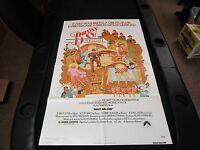 One sheet 27x41 Movie Poster Bugsy Malone 1976 Jodie Foster Scott Baio