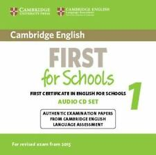 FCE Practice Tests: CAMBRIDGE ENGLISH FIRST FOR SCHOOLS 1 FOR REVISED EXAM...