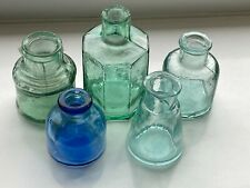 More details for five different ink well bottles c1915