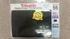Digital & Analog Indoor TV Antenna HDTV Ready HD VHF UHF Flat Design TS-1577 ***