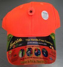 Head-Lite G2 LED Hat - Orange - Brand New!