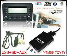 Yatour Digital Cd Changer for Toyota Lexus Scion Small 5+7 plug keep Cd changer