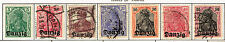 Danzig Free State first set stamps 1920