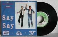 "7"" Vinyl - PAUL McCARTNEY and MICHAEL JACKSON - Say Say Say"
