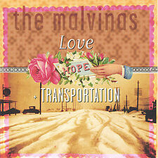 Love, Hope + Transportation by The Malvinas CD New Sealed