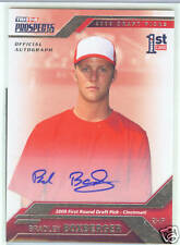 Bradley Boxberger San Diego Padres 2009 Tristar Autograph