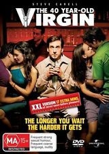 The 40 Year Old Virgin [ DVD ] LIKE NEW, Region 4 + 2 + 5, Fast Post....5835