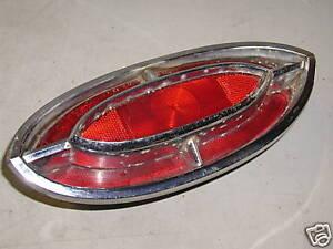 OLDSMOBILE STARFIRE 88 98 OEM GUIDE 3 TAIL LIGHT 1962