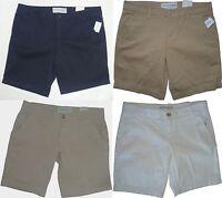 Womens AEROPOSTALE Solid Uniform Twill Bermuda Shorts NWT #2032