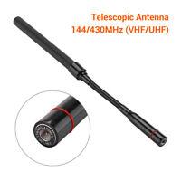 Vhf / Uhf 144/430Mhz Taktische Antenne Stecker SMA 30cm With Schwanenhals