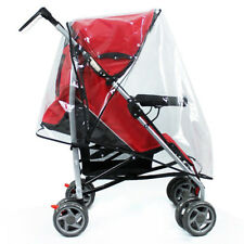 For Baby Pushchair Universal Fit Hauck Shopper Buggy Pram Covers Clear Raincover