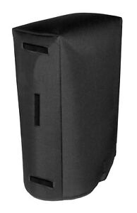 Fender Bassman 2x12 Cabinet Cover, Water Resistant, Black by Tuki (fend145p)