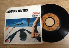 45 tours Johnny Rivers ‎China / The price 1980 EXC