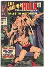 Tales to Astonish # 94 Vg Sub-Mariner & Hulk! Stan Lee + Gil Kane! Low A$K L@K!