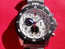 Victorinox Swiss Army 241681 Maverick Chronograph Men's Watch Sapphire Crystal