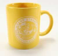 Vintage Yellow Sam Houston Camp Strake Boy Scouts of America Coffee Mug Cup