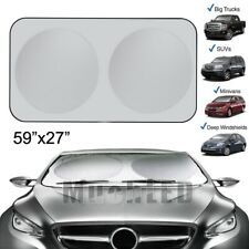 Models Intro-Tech DG-94-S Silver Custom Fit Windshield Snow Shade for Select Dodge Pickup 2500//3500 w//Backup Camera