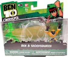 "BEN 10 Omniverse 2"" Shocksquatch & Ben Cartoon Network New 2012 Factory Sealed"