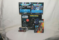 5 Star Wars Toys NIB Darth Vader Power Talker Han Solo Micro Machines Darth Maul